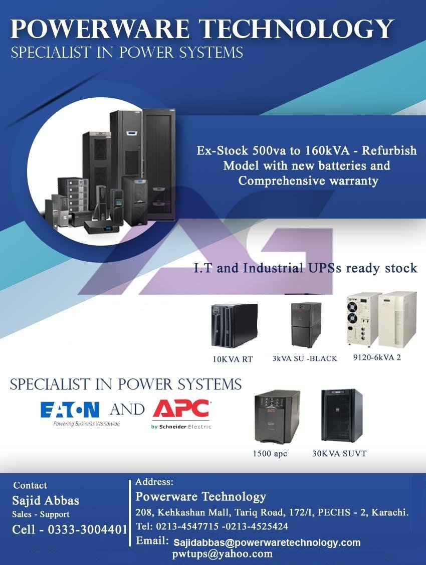 APC & EATON UPS – PowerWareTechnology Com